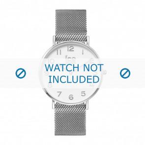 Ice Watch Uhrenarmband 012701 / 012702 Metall Silber 20mm