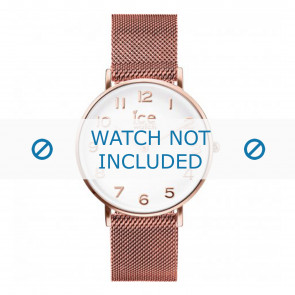Ice Watch Uhrenarmband 012711 / 012710 / 012709 Metall Rosé 20mm