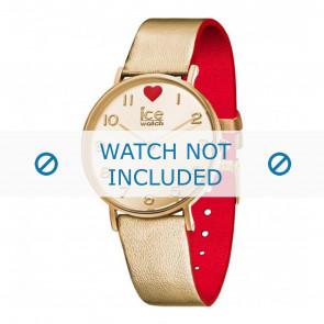 Ice Watch Uhrenarmband 013376 Leder Gold 18mm