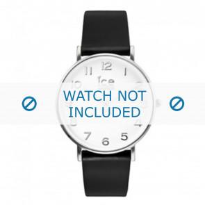 Ice Watch Uhrenarmband ct-bsr-36-l-16 Leder Schwarz 18mm