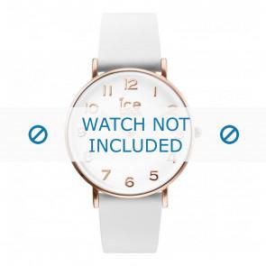 Ice Watch Uhrenarmband CT.WRG.36.L.16 Leder Weiss 18mm