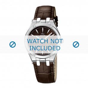 Jaguar Uhrenarmband J674-2 Leder Braun + braunen nähte