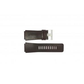 Fossil Uhrenarmband JR-9121 Leder Dunkelbraun 26mm