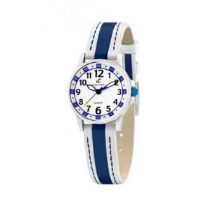 Uhrenarmband Calypso k5212-1 Leder Blau