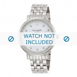 Kate Spade New York Uhrenarmband 1YRU0820 / MONTEREY Metall Silber