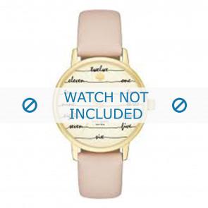 Kate Spade New York Uhrenarmband KSW1059 / METRO Leder Rosa