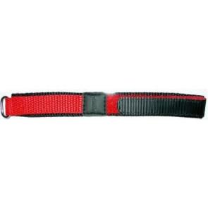 Klettband 20mm rot