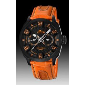 Uhrenarmband Lotus 15788-2 Leder Orange