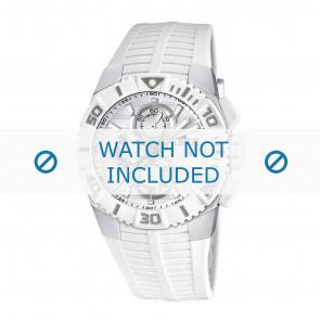 Lotus Uhrenarmband 15778.1 Kautschuk Weiss 26mm