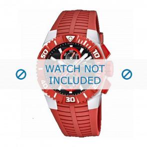 Lotus style Uhrenarmband 15778.2 Kunststoff Rot
