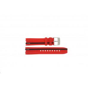 Lotus Uhrenarmband 15881/2 Kunststoff Rot 22mm