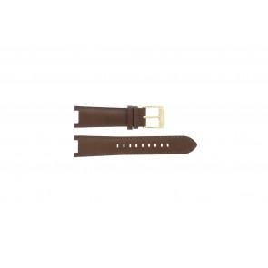 Michael Kors Uhrenarmband MK2249 Leder Braun 20mm + braunen nähte