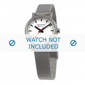 Mondaine Uhrenarmband A658.30301.11SBV / BM20037 / 30301 / EVO 26 Metall Silber 12mm
