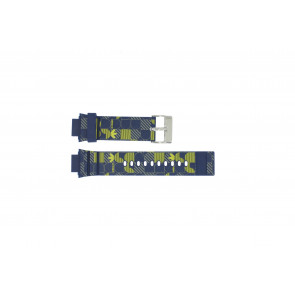 Adidas Uhrenarmband ADH6106 Gummi Blau 16mm