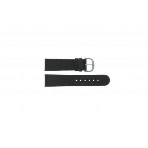 Danish Design Uhrenarmband IQ13Q586 / IV13Q843 Leder Schwarz 22mm