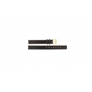Skagen Uhrenarmband 358XSGLD Leder Braun 12mm