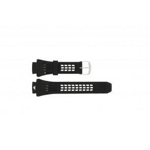 Adidas Uhrenarmband ADP6002 Gummi Schwarz 19mm