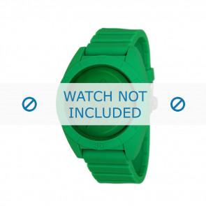 Adidas Uhrenarmband ADH2788 Kunststoff Grün 24mm