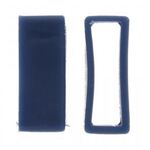 Ersatzschlaufe Gummi Blau 24mm