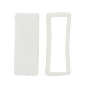 Ersatzschlaufe Gummi Weiß16mm