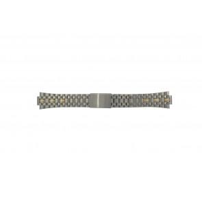 Pulsar Uhrenarmband V657-8000 / PJN010P1 / 70Q6XG Titan Zweifarbig 11mm