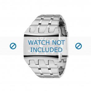 Police Uhrenarmband 13420js/02MA Metall Silber