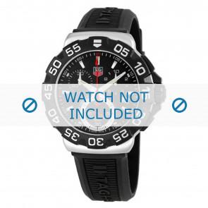 Tag Heuer Uhrenarmband BT0714 Kunststoff Schwarz