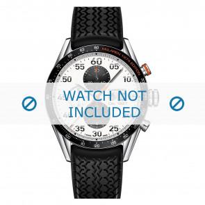 Tag Heuer Uhrenarmband FT6033 Kunststoff Schwarz