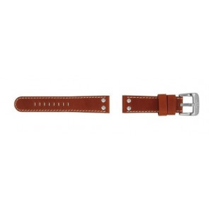 TW Steel Uhrenarmband TW24 Leder Braun 22mm