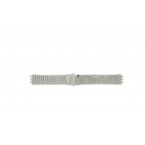 Pulsar Uhrenarmband VX43-X043 Stahl Silber 20mm