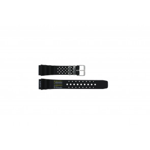 Uhrenarmband  / Citizen Kunststoff Schwarz 20mm