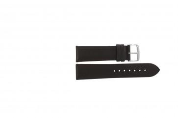 Echtes Leder Uhrenarmband dunkelbraun 22mm PVK-283