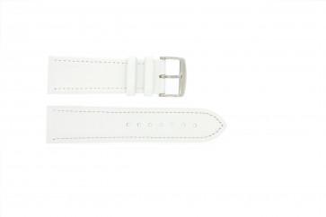 Echtes Leder weiß 24mm 283