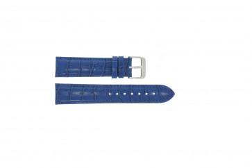 Uhrenarmband Universal 285R.05 Leder Blau 20mm