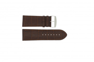 Uhrenarmband Universal 305.02 Leder Braun 24mm