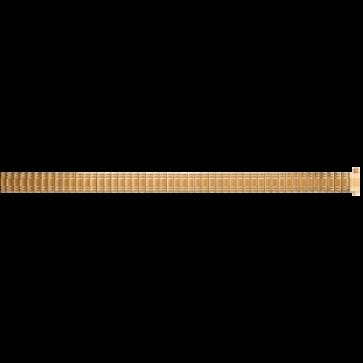 Uhrenarmband Universal EB607 Stahl Vergoldet 8mm