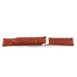 Echtes Leder Uhrenarmband cognac 16mm EX-G62