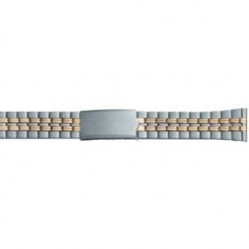 Uhrenarmband Stahl 20mm PVK-DD100