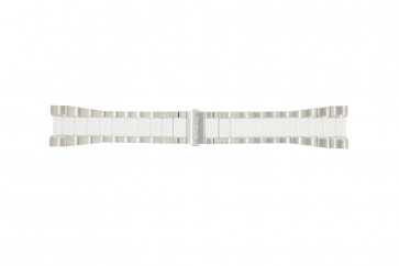 Breil Uhrenarmband BW0224 Stahl Weiß 27mm