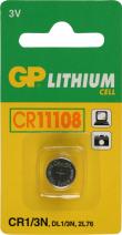 CR11108 / DL1/3N / 2L76 batterij 3 volt