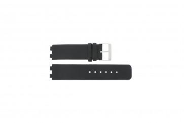 Danish Design Uhrenarmband IQ13Q523 / IQ12Q523 Leder Schwarz 16mm