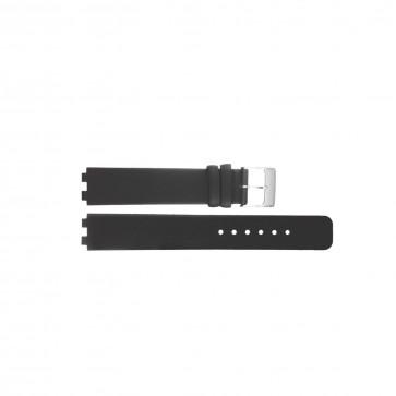 Danish Design Uhrenarmband IV12Q523 / IV13Q523 Leder Schwarz 12mm