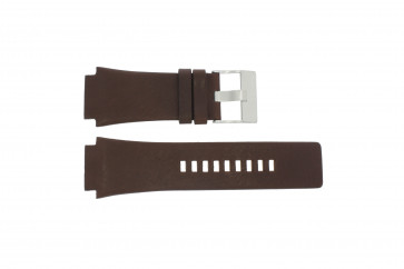 Diesel Uhrenarmband DZ-1132 Leder Braun 25mm