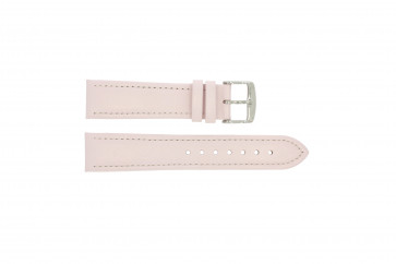 Echt Leder Uhrenarmband rosa 22mm 283