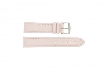 Echtes Leder Uhrenarmband rosa 20mm 283