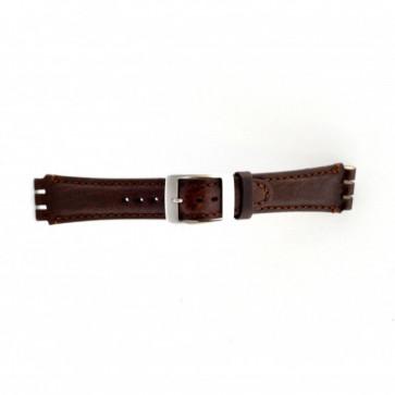 Swatch Uhrenarmband braun 19mm PVK-SC14.02