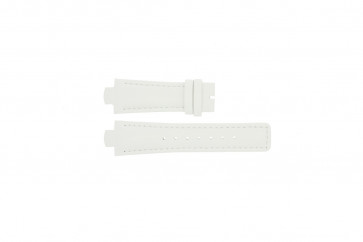 Breil Uhrenarmband TW0394 / F660012788 Leder Weiss 12mm + weiße nähte