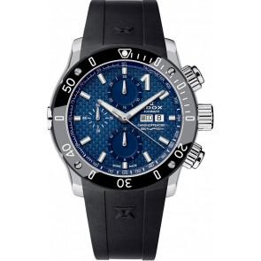 Uhrenarmband Edox 01122 Silikon Schwarz