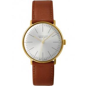 Uhrenarmband Junghans 027/5703.00 Leder Hellbraun