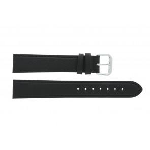 Echtleder Uhrenarmband schwarz 14mm PVK-054 xl